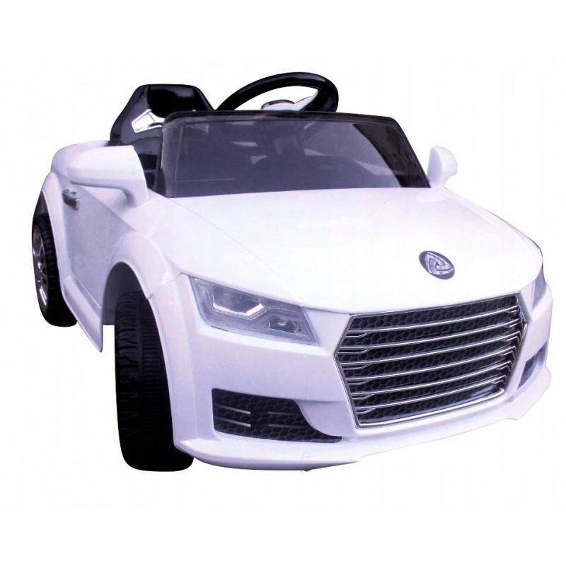 Детский электромобиль на аккумуляторе Cabrio АА3 с пультом управления и музыкой МР3 Белый