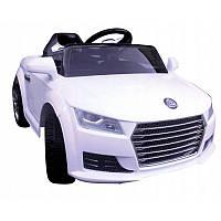 Детский электромобиль на аккумуляторе Cabrio АА3 с пультом управления и музыкой МР3 Белый, фото 1
