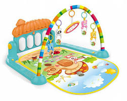 Детский развивающий коврик с пианино Kinderplay HE0639