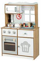 Деревянная кухня для детей EcoToys White