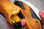 Кроссовки мужские 13425, Nike Air Max 270, оранжевые ( 42  ), фото 6