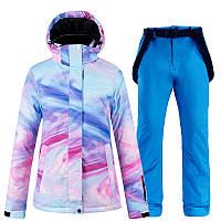 Лыжный костюм женский. Костюм для сноубординга женский.