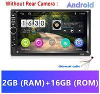 Автомагнитола 2 DIN Pioneer 7018 ОЗУ 2ГБ Android 8.1 модель 2019 года Wi Fi, Bluetooth, Gps (лучше чем pi-707), фото 1