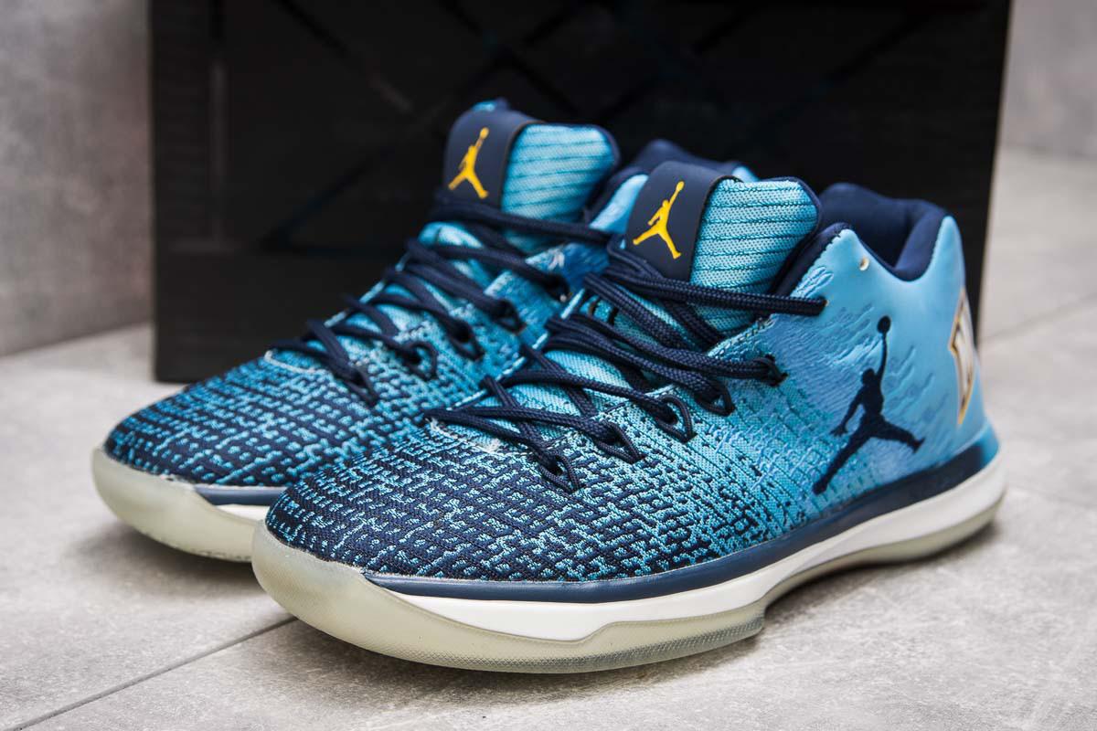 Кроссовки мужские  Jordan Air XXXI Low, голубой (13923) размеры в наличии ► [  41 43  ]