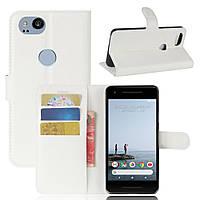 Чехол-книжка Litchie Wallet для Google Pixel 2 Белый
