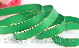 Лента люрекс 0,9 см Цвет зеленый