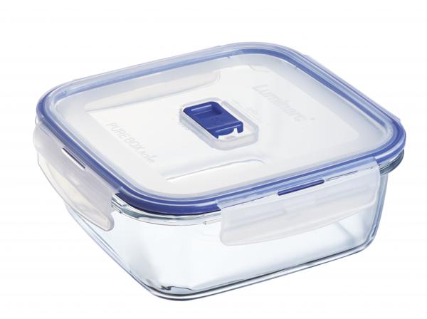 Pure Box Active Емкость для пищи квадратная 1220 мл Luminarc P3552