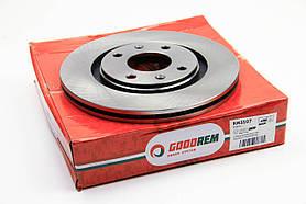 Тормозной диск передний Peugeot Partner 1996-2002 (вентилир.) GOODREM