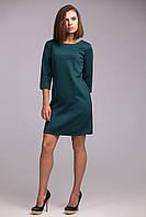 Платье из плотного глянцевого трикотажа с красивым отливом, фото 1
