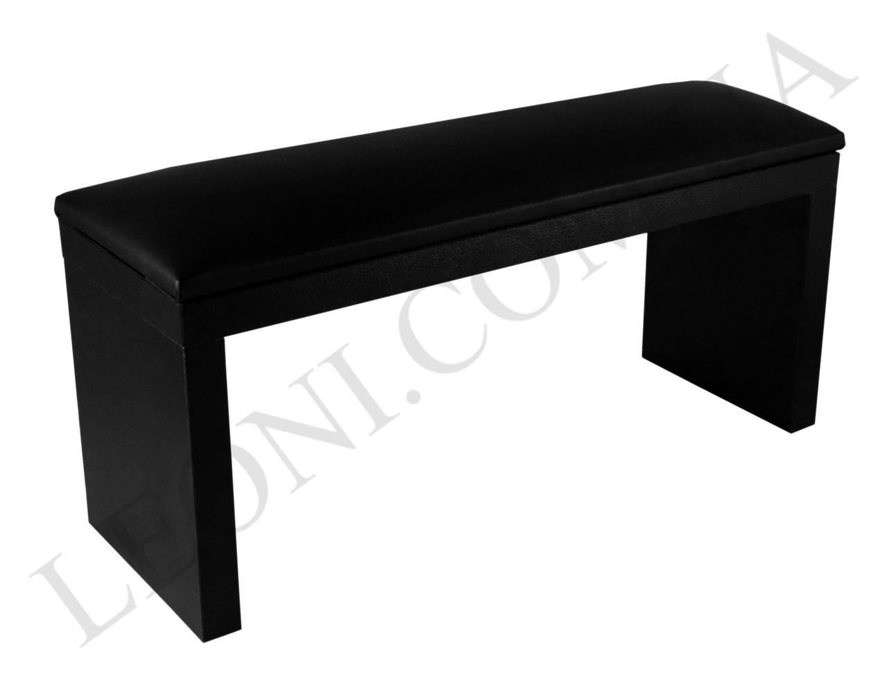 Маникюрная подставка для рук (Подлокотник) Черного цвета на ножках