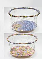 Манеж детский овальный с твердым дном (рисунки в ассортименте) 95*80*50 см
