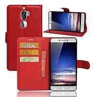 Чехол-книжка Litchie Wallet для LeTV LeEco Cool1 (Coolpad Cool 1) Красный
