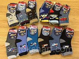 Детские тёплые носки под ботинки, для мальчиков «Три размера» до 7 лет Корона (3208)