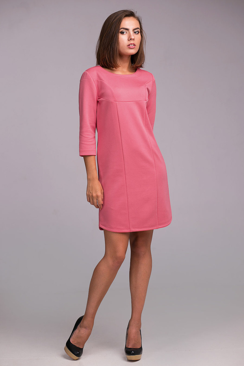 Женское модное платье прямого кроя