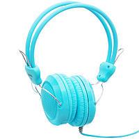 Накладні навушники Hoco W5 Блакитні