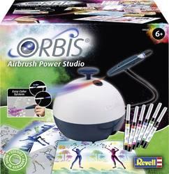 Orbis 30020 Airbrush Power Studio аэрограф для детей и творческих взрослых с аксессуарами