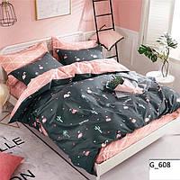 Комплект постельного белья Наша Швейка Бязь Black Flam 180х215 см