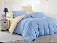 Комплект постельного белья Наша Швейка Бязь Blue Beige Евро