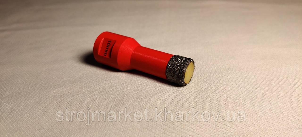 Алмазная коронка вакуумного спекания 16 мм Diatool (М14) УШМ
