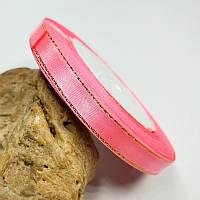 Лента люрекс 0,9см Цвет розовый