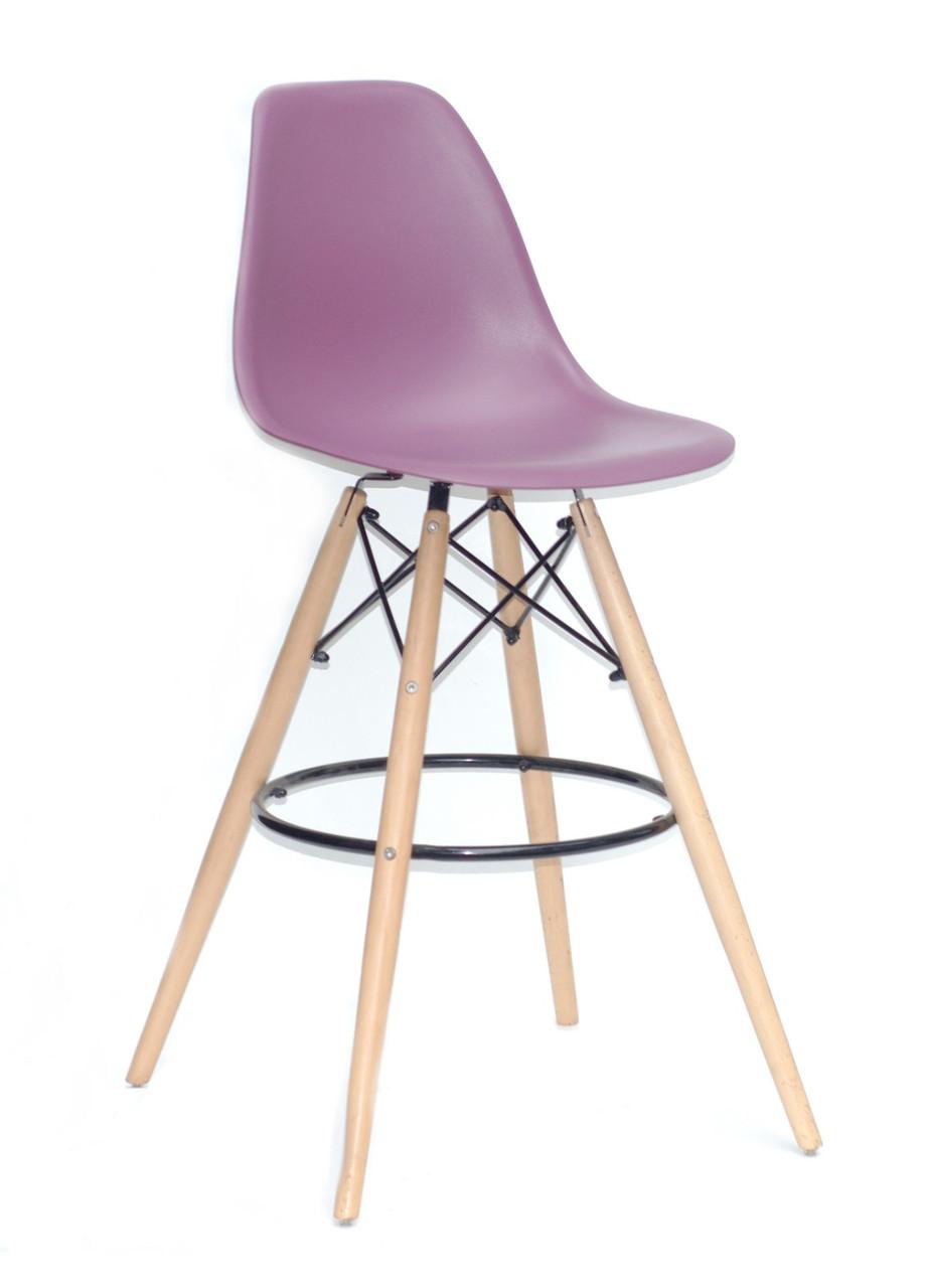 Барний стілець Nik Eames, пурпурний