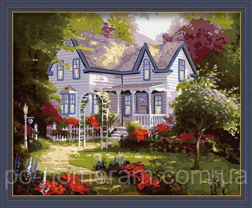 Раскраска по цифрам Дом там где сердце 2 худ Кинкейд ...