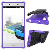 Чехол Armor Case для Sony Xperia XZ F8331 / F8332 (5.2 дюйма) Фиолетовый