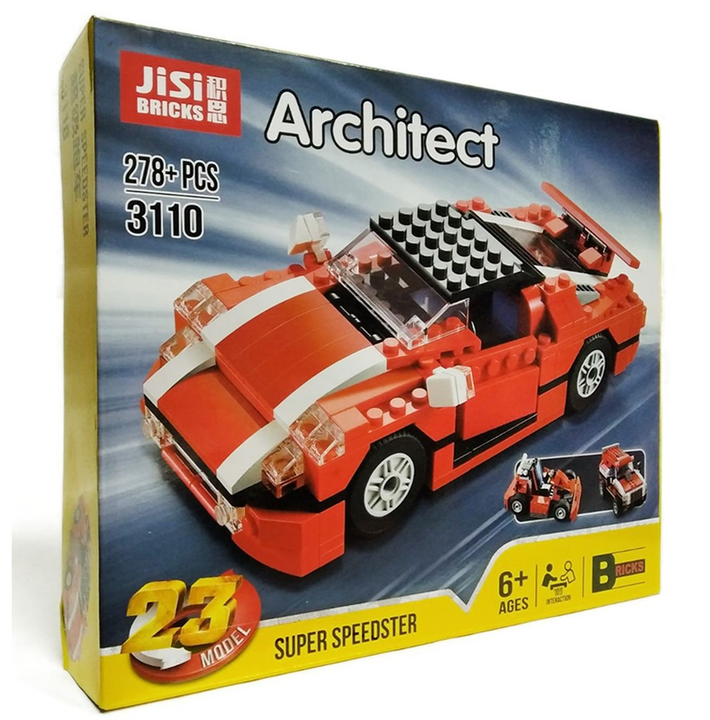 Конструктор Architect Машина 23в1 Jisi Bricks
