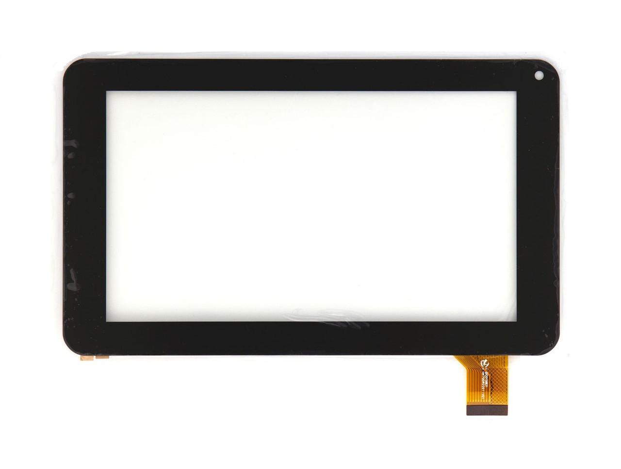 "Сенсор (Тачскрин) для планшета 7"" Pixus Play One (тип 1) (186*111 мм) 30pin (Черный) Оригинал Китай"