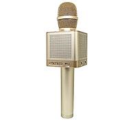 Микрофон MicGeek Bluetooth караоке Q10 Gold, фото 1