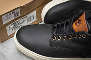 Зимние мужские ботинки 30112, Timberland Groveton, черные ( 41 46  ), фото 6