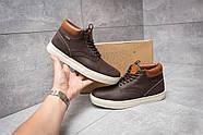 Зимние мужские ботинки 30113, Timberland Groveton, коричневые ( 46  ), фото 2
