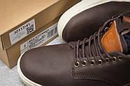 Зимние мужские ботинки 30113, Timberland Groveton, коричневые ( 46  ), фото 6