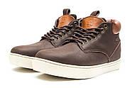 Зимние мужские ботинки 30113, Timberland Groveton, коричневые ( 46  ), фото 7