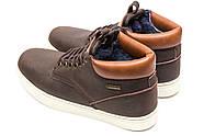Зимние мужские ботинки 30113, Timberland Groveton, коричневые ( 46  ), фото 8