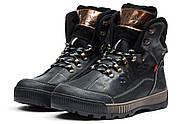 Зимние мужские ботинки 30641, Switzerland Swiss, черные ( 41  ), фото 6