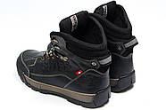 Зимние мужские ботинки 30641, Switzerland Swiss, черные ( 41  ), фото 7