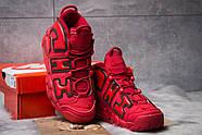 Кроссовки мужские 14823, Nike More Uptempo, красные ( 44 46  ), фото 3