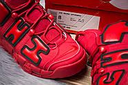 Кроссовки мужские 14823, Nike More Uptempo, красные ( 44 46  ), фото 6