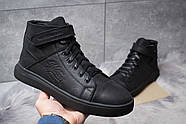 Зимние мужские ботинки 30901, Hilfiger Denim, черные ( 43  ), фото 2