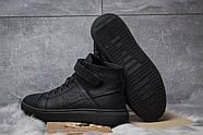 Зимние мужские ботинки 30901, Hilfiger Denim, черные ( 43  ), фото 4