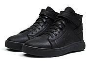Зимние мужские ботинки 30901, Hilfiger Denim, черные ( 43  ), фото 7