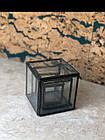 Набор металических стеклянных шкатулок, фото 2