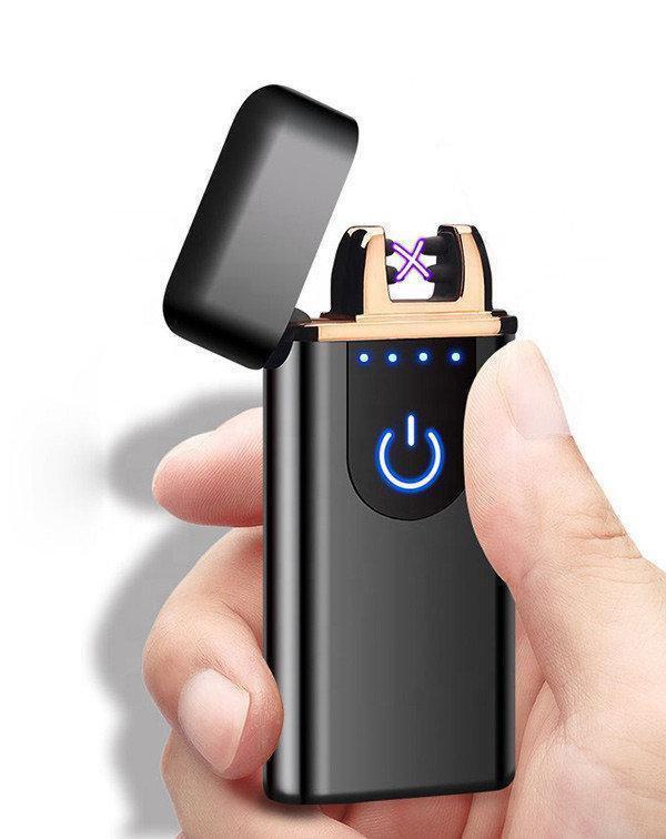 Зажигалка USB 750, Сенсорная USB зажигалка