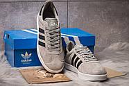 Кроссовки мужские 14134, Adidas Gazelle, серые ( 42  ), фото 3