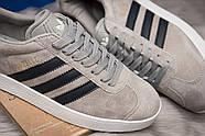 Кроссовки мужские 14134, Adidas Gazelle, серые ( 42  ), фото 6