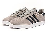 Кроссовки мужские 14134, Adidas Gazelle, серые ( 42  ), фото 7
