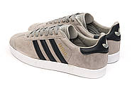 Кроссовки мужские 14134, Adidas Gazelle, серые ( 42  ), фото 8