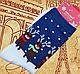 Мужские рождественские новогодние носки с оленями подарок, фото 2