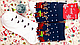 Мужские рождественские новогодние носки с оленями подарок, фото 3